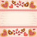 Greeting Card,Candy,Heart S...