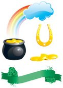 Cooking Pan,Gold,Rainbow,Go...