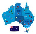 Australia,Cartography,Map,S...