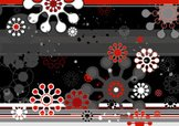Geometry,Black Color,Red,Sh...