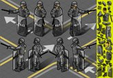Police Force,Isometric,Unif...