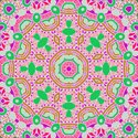 Floral Pattern,Green Color,...