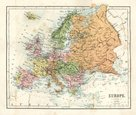Map,Cartography,Europe,Old-...