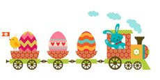 Easter,Train,Easter Bunny,H...