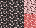Floral Pattern,Wallpaper Pa...