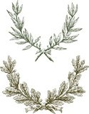 Laurel Wreath,Oak Tree,Leaf...