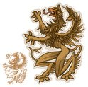 Griffin,Coat Of Arms,Insign...