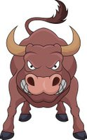 Bull - Animal,Anger,Cheerfu...