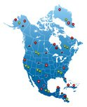 North America,Cartography,M...