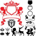 Deer,Coat Of Arms,Stag,Symb...
