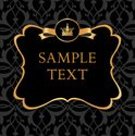 Baroque Style,Label,Gold Co...