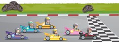Sports Race,Competition,Go-...