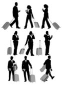 Business Travel,Silhouette,...