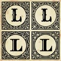 Letter L,Old-fashioned,Intr...