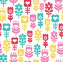 Fun,Seamless,Pattern,Daisy,...