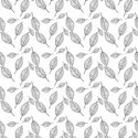 Leaf,Pattern,Black Color,Bl...
