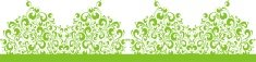 Vector,Green Color,Floral P...