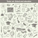 Education,Doodle,Drawing Co...