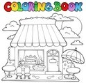 Coloring Book,Store,House,R...