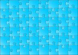 Jigsaw Piece,Puzzle,complet...