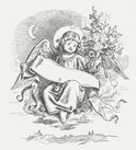 Engraved Image,Christmas,Wo...