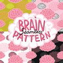Cute,Human Brain,Pattern,Ba...