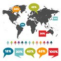 Infographic,World Map,Map,C...