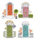Door,Entrance,House,Old-fas...