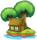 Cabin,Backgrounds,Large,Green…