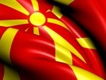Republic Of Macedonia,Flag,...