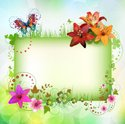 Green Color,Nature,Flower,B...