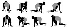 Track And Field,Silhouette,...