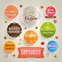 Interface Icons,Bakery,Colo...