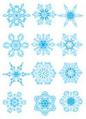 Snowflake,Single Object,Vec...