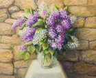 Lilac,Fine Art Painting,Pa...