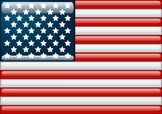 USA,Flag,Glass - Material,B...