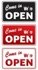 Open Sign,1970s Style,Adver...