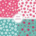 Textile,Calico,Effortless,F...