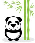Panda,Zoo,Fun,Cute,Grass,Il...