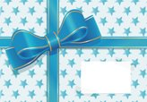 Bow,Bow,Wrapping Paper,Blue...