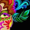 Carnival,Feather,Mask,Feath...