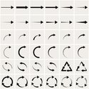 Arrow Symbol,Curve,Circle,S...