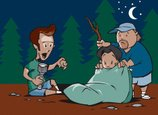 Night,Camping,Fear,Tree,Out...
