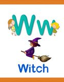 Alphabet,Small,Witch,Wealth...