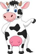 Cow,Standing,Fun,Happiness,...