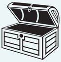Treasure Chest,Furniture,Ve...