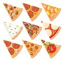 Pizza,Slice,Vector,Edible M...