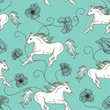Horse,Pattern,Backgrounds,E...