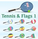 Tennis,Flag,Ball,nations,Eq...