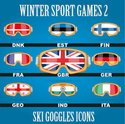Winter,Sport,Season,Flag,Ic...